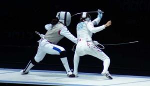 Hiyaa Martial Art Podcast Episode 38 Dayn DeRose Fencing